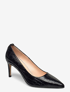 Betty Pumps - klassiske pumps - blk croco optic