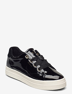 Avona Low lace shoes - lave sneakers - black