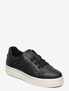 Avona Low lace shoes - sneakers med lav ankel - black