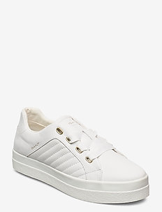 Avona Low lace shoes - low top sneakers - bright white