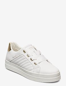 Avona Low lace shoes - low top sneakers - bright white/gold