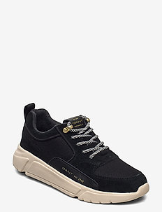 Cocoville Low lace shoes - lave sneakers - black