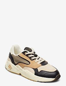 Nicewill Running low - låga sneakers - beige/black