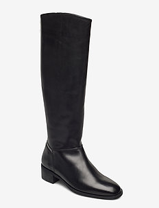 Dellar Long Shaft Boot - long boots - black