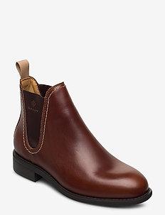 Ainsley Chelsea - chelsea boots - cognac