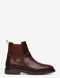 Ashleyy Chelsea - chelsea støvler - sienna brown