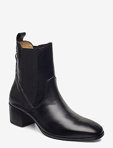 Sealy Chelsea - heeled ankle boots - black