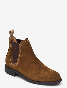 Ainsley Chelsea - chelsea boots - tobacco brown