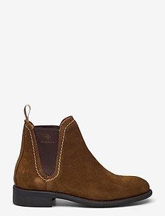 Ainsley Chelsea - chelsea støvler - tobacco brown