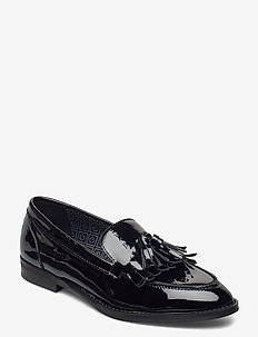 St Beeton Moccasin - loaferit - black