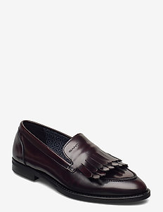 St Beeton Moccasin - loafers - bordeaux