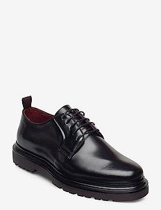 Beaumont Low lace shoes - snøresko - black