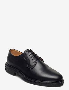 Kyree Low lace shoes - veterschoenen - black