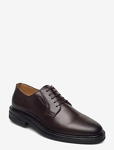 Kyree Low lace shoes - laced shoes - dark brown