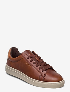 Mc Julien Cupsole low - baskets basses - cognac