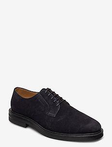Kyree Low lace shoes - snøresko - marine