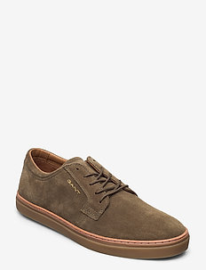 Prepville Cupsole low - baskets basses - dark olive