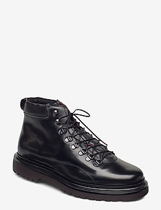 Beaumont Mid lace boot - schnürboots - black