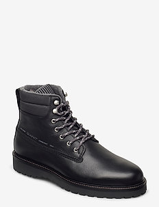 Roden  Mid lace boot - laced boots - black