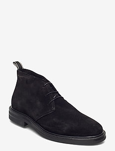 Kyree Mid lace boot - desert boots - black