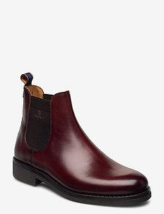Brookly Chelsea - chelsea boots - cognac