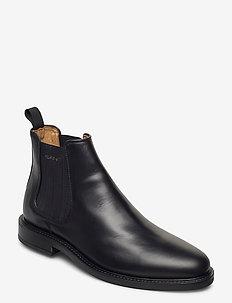 St Akron Chelsea - chelsea boots - black