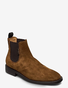 Brockwill Chelsea - chelsea boots - tobacco brown