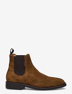 Brockwill Chelsea - chelsea boots - tobacco brown