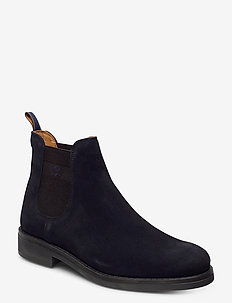 Brookly Chelsea - chelsea boots - marine