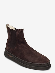 Cloyd Chelsea - winter boots - dark brown
