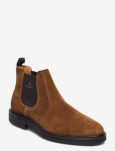 Kyree Chelsea - chelsea boots - cognac