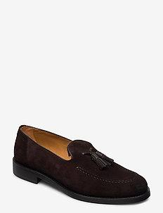 Almon Slip-on shoes - instappers - dark brown