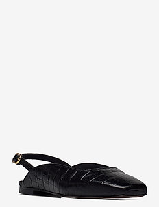 Bellyn Sandal - ballerinas - blk croco optic