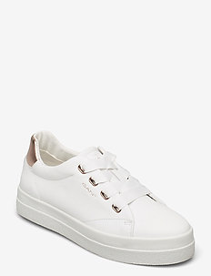 Avona Sneaker - låga sneakers - br.wht./rose gold