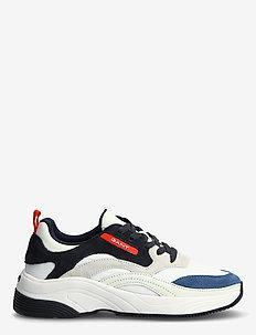 Calinne Sneaker - lave sneakers - off wht./navy blue