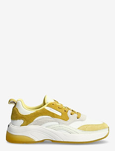 Calinne Sneaker - lave sneakers - off wht/yellow
