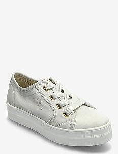 Leisha Sneaker - låga sneakers - silver gray