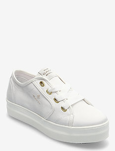 Leisha Sneaker - lave sneakers - white