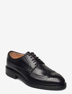 Flairville Low lace - laced shoes - black