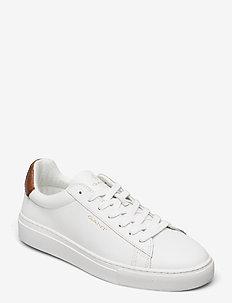 Mc Julien Sneaker - lave sneakers - br.wht/cognac