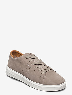 Fairville Low lace s - low tops - elephant brown
