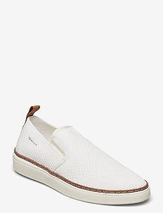 San Prep Sneaker - slip-on sneakers - off white