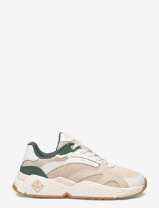 Nicewill Sneaker - chunky sneaker - white/green