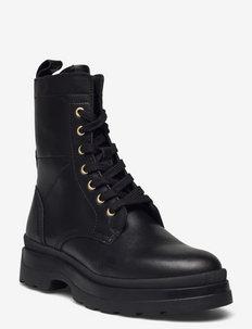 Windpeak Mid Boot - platta ankelboots - black