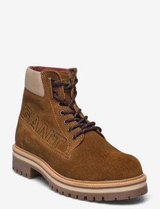 Palmont Mid Boot - vinterstøvler - tobacco/dry sand