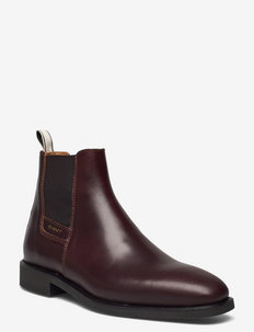 James chelsea boot - chelsea boots - sienna brown