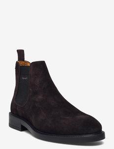Flairville Chelsea - chelsea boots - dark brown