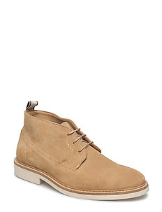Parker Mid lace boot - DRY SAND