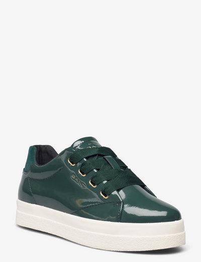 Avona Sneaker - low top sneakers - dark green