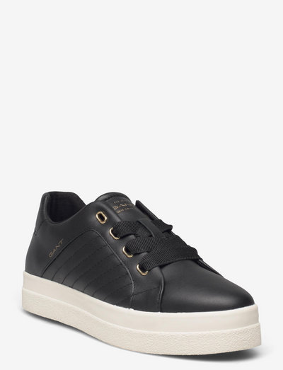 Avona Low lace shoes - low top sneakers - black